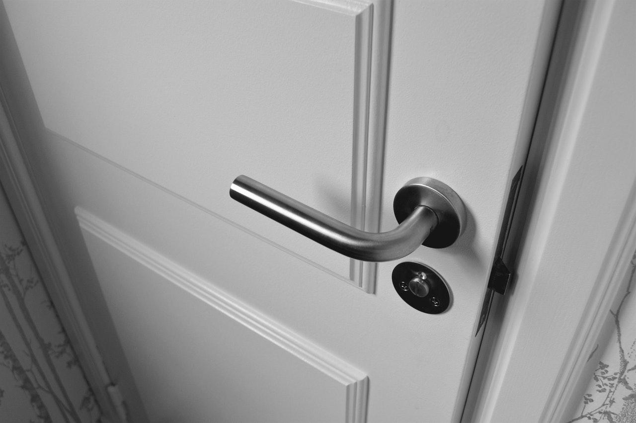 deur van slot