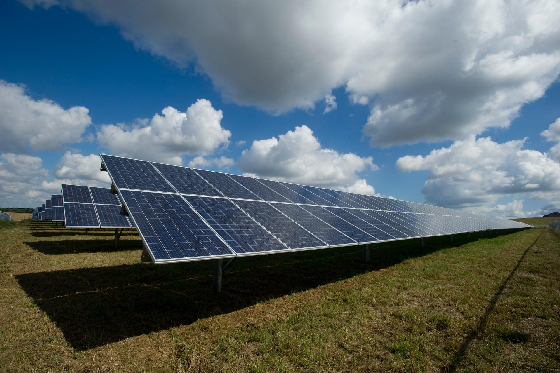 duurzaam stroom opgewekt door zon